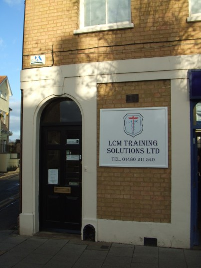 LCM Training Solutions Ltd at 1 Market Square, St Neots in January 2012