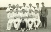 Little Barford Cricket Team in 1958 (photo from Oscar Chuter)