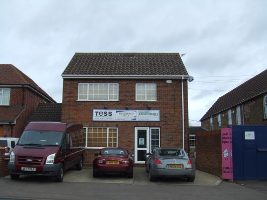 Tess, Richmond Hill Financial Ltd and Kenilworth Accountancy offices at 8 Eaton Ford Green in February 2012