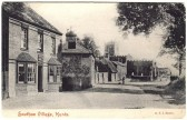 Southoe village on the Great North Rd, near St Neots, around 1900