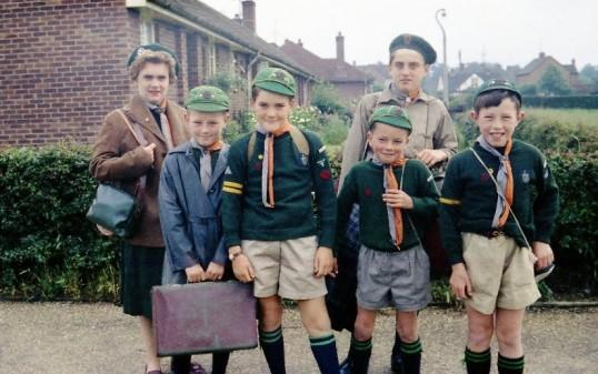 Eaton Socon cub scouts, about 1963