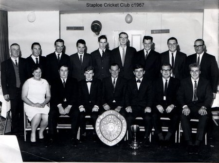 Staploe Cricket Club around 1967 (N. Cutts)