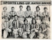 Eaton Socon Football Club in 1972 (N. Cutts)