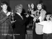 St Neots Boxing Club awards in 1972 (N. Cutts)