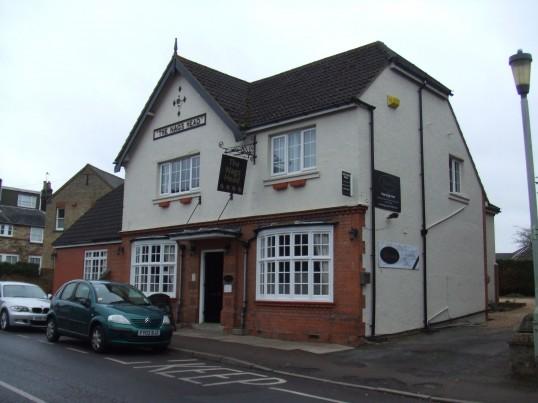 Nags Head Pub and Hotel in Eynesbury in March 2012