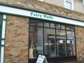 Fairy Nails shop in Church Walk, St Neots in June 2012