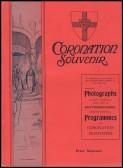 1911 Coronation Souvenir Programme
