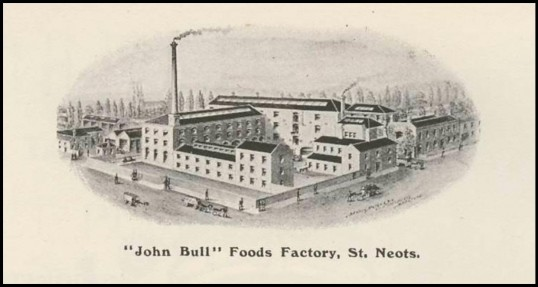 View of John Bull's Food factory in the 1911 Coronation Souvenir programme