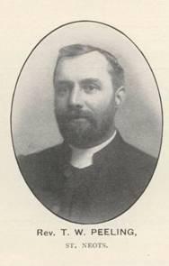 Portrait of Rev T W Peeling in the 1911 Coronation Souvenir Programme
