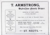 Armstrong Draper's advert in the 1911 Coronation Souvenir Programme