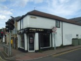 Friction Hair and Beauty Salon in Huntingdon Street, St Neots in July 2012 - now closed