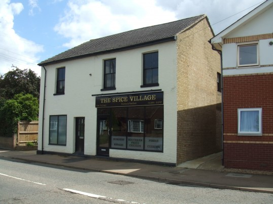 Spice Village, Indian Takeaway, 154 St Neots Rd, Eaton Ford, opened 23rd Jul 2012, formerly 'Rooms and Blooms.