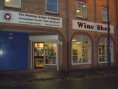 'Smiling Grape' - the new larger wine shop in the former Cartridge World shop in Priory Lane, St Neots,opened November 2012