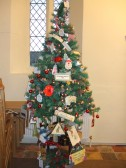 Little Paxton - Christmas Tree by the St Neots and District U3A in the 2012 Xmas Tree Festival