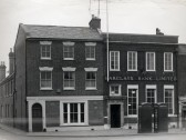 Barclay's Bank, Market Square, St Neots, in 1965 (Barclay's Bank Archive)