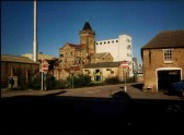 Bedford Street (formerly Nutters Lane) with Paines Mill, St Neots, about 2000.