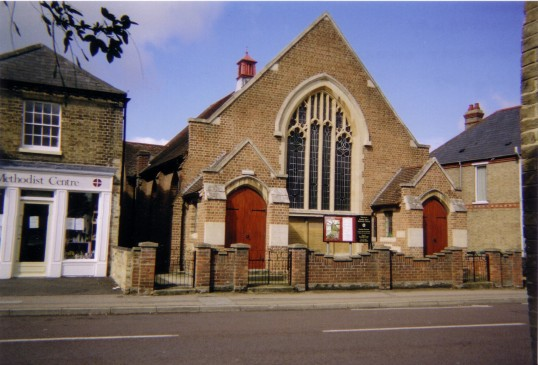 Eynesbury Methodist Church, Berkley Street, in July 2007