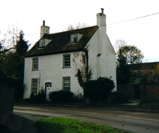 Dial House in Little Paxton Lane, Little Paxton in November 2007