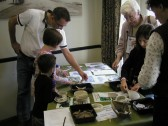 Activities at St Neots History day, in October 2006. Photo P Ibbett