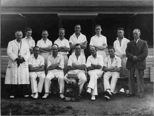 St Neots Cricket Club team c1930