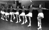 Photograph from collection of St Neots Roller Skating Club 1955-60.