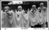 St Neots quads - 'Hanging out the smalls', in 1935
