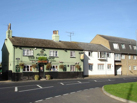 Barley Mow Public House, Crosshall Road, Eaton Ford, in October 2006,  Shirley Kevern