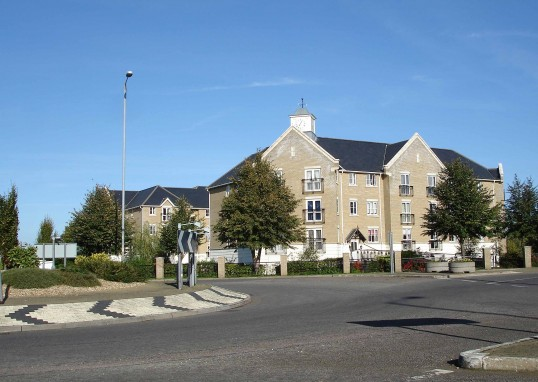 Cavendish Court Retirement Apartments in Eaton Ford in October 2006