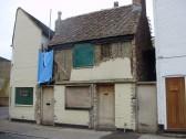 Building Restoration, Brook St, St Neots in January 2011  (P.Ibbett)