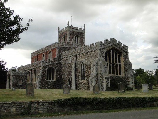 Southoe, St Leonards Church, in March 2013