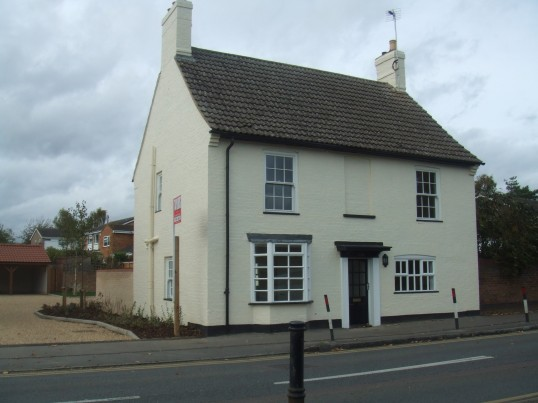 Former Wheatsheaf Public house in Eaton Socon
