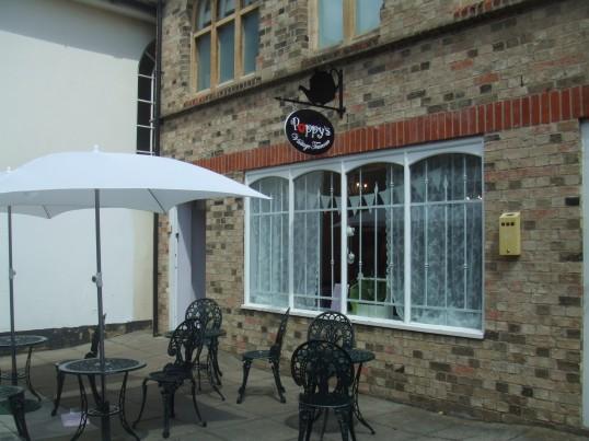 Visit Poppy's Vintage Tearoom open in July 2013