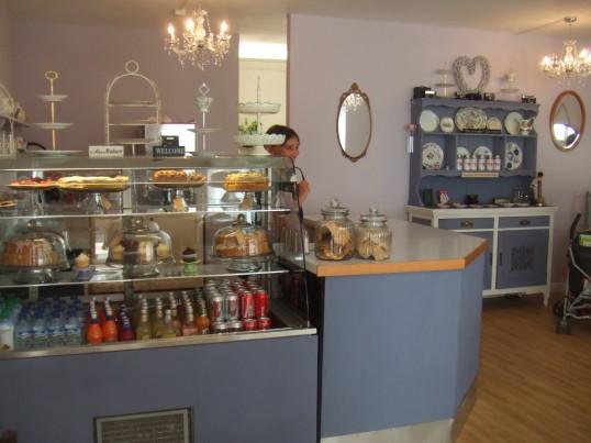 Poppy's Vintage Tearoom, opened in July 2013 in Church Walk
