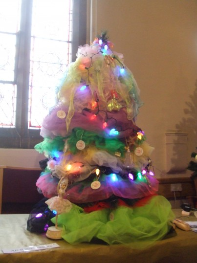 Christmas Tree by the Dance Academy in the 2013 Christmas Tree Festival in the United Reformed Church