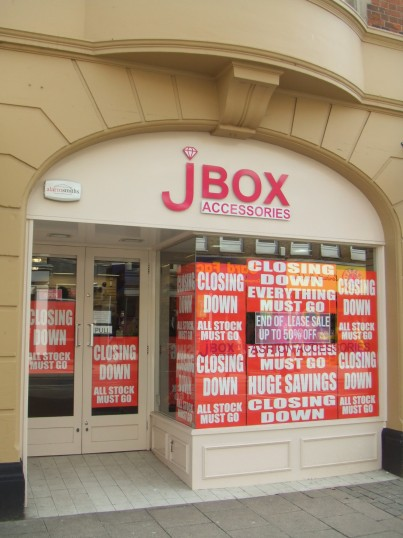 J Box shop March 26th 2013