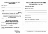 Keysoe Village Show 2013 - Entry Forms