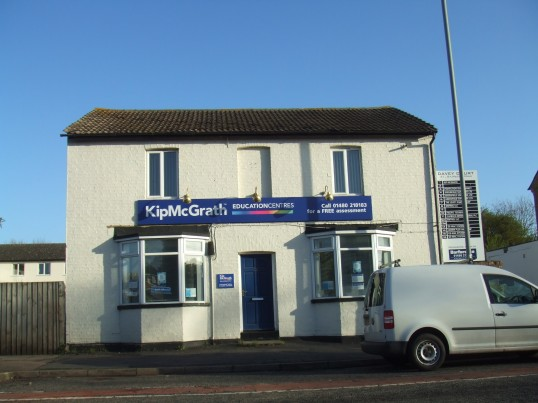 KipMcGrath Education Centre in Eaton Ford, April 29th 2013 (once the Red Lion Public House)