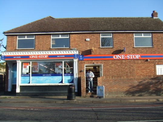 One Stop Stores in St Neots Road, Eaton Ford - April 19th 2013