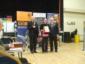 Beer Festival St Neots - one of the awards given to the Pig n'Falcon March 14th 2013