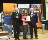 Beer Festival St Neots - one of the awards given to the Pig n'Falcon on March 14th 2013