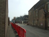Cinema site - view of the cinema from Huntingdon Street - April 8th 2013