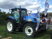 Keysoe Village Show 2013 - How many balloons in a tractor competition