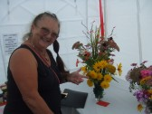 Keysoe Village Show 2013 - Patti Pitts flower decoration