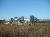 New railway bridge from Loves Farm estate - December 17th 2013