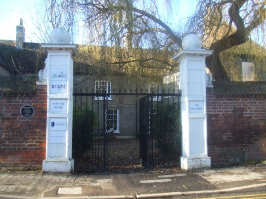 Shrubbery gates with another selection of small offices listed - December 2013