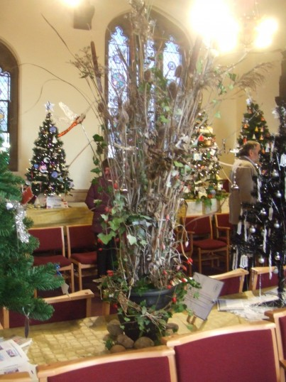 Christmas Tree Festival - 7th December 2013 in the United Reformed Church