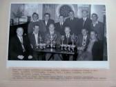 Darts team - May 1960, in the Nags Head in Eynesbury.