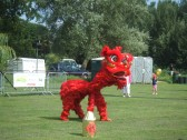 Dragonboat Racing Day – a Chinese dragon on Regatta Meadow - August 31st 2013