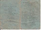 St Neots & District Cricket Club Fixture List 1948