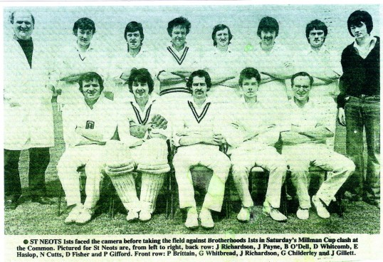 St Neots Cricket Team - date unknown